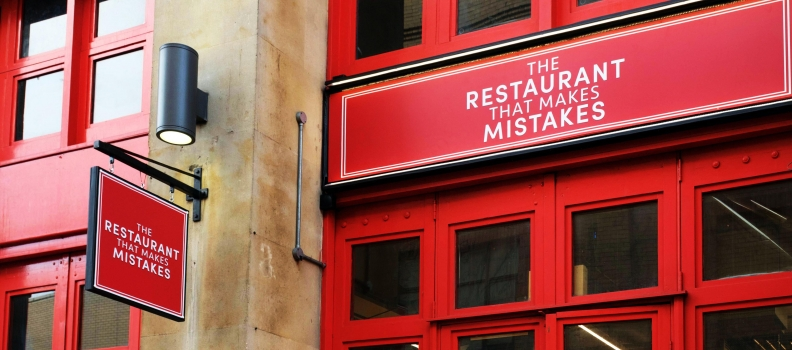 Did you see The Restaurant That Makes Mistakes on Channel 4?